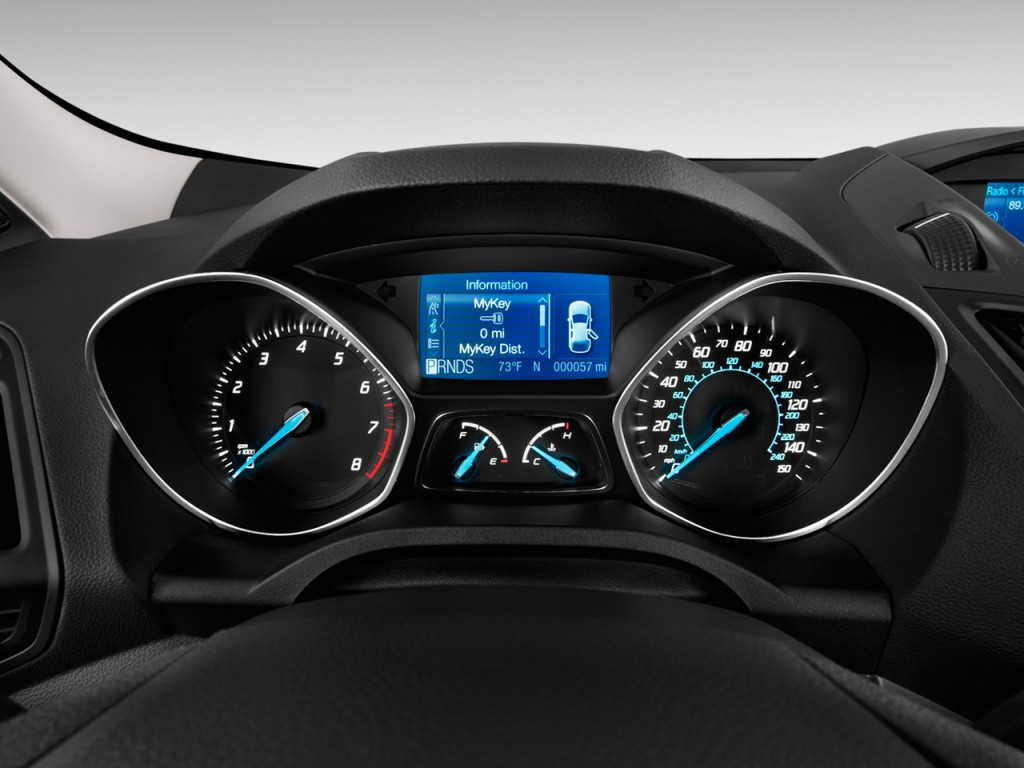 image 2014 ford escape fwd 4 door s instrument cluster size 1024 x 768 type gif posted on. Black Bedroom Furniture Sets. Home Design Ideas