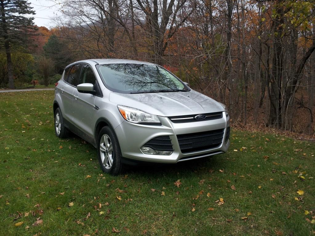 2014 Ford Escape SE 1.6-liter EcoBoost, Catskill Mountains, NY, Nov 2013