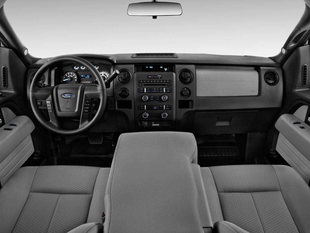 Image 2014 ford f 150 2wd reg cab 126 xl dashboard size - 2013 ford f 150 interior accessories ...