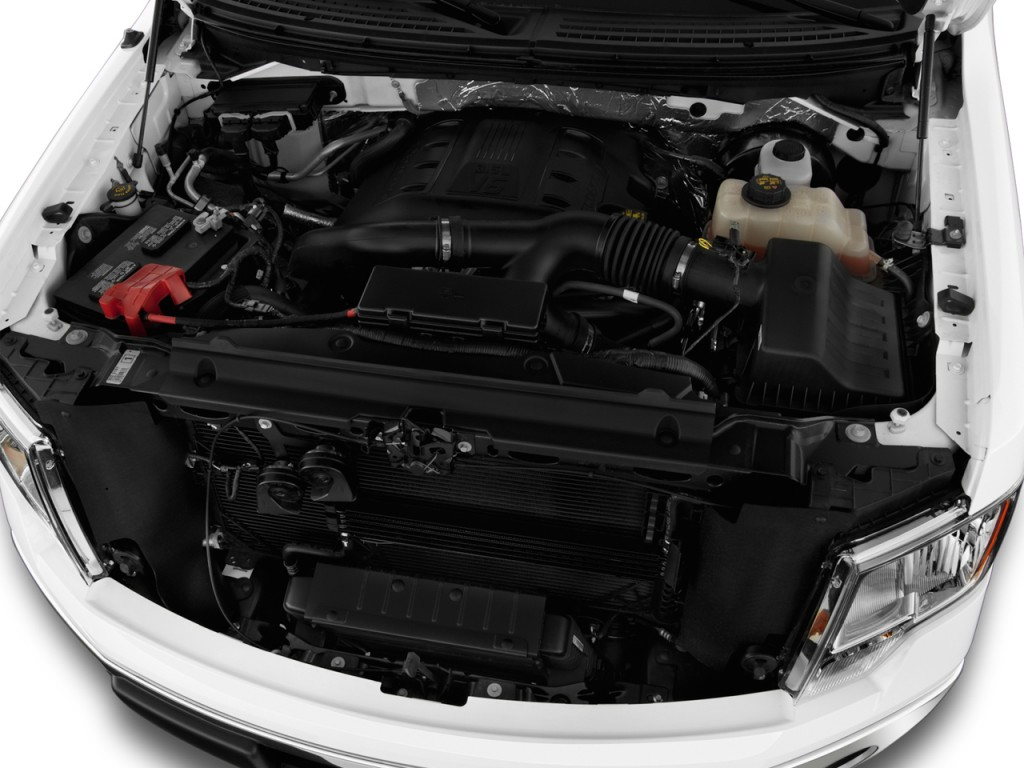 """Image: 2014 Ford F-150 2WD SuperCrew 145"""" XLT Engine, size ..."""