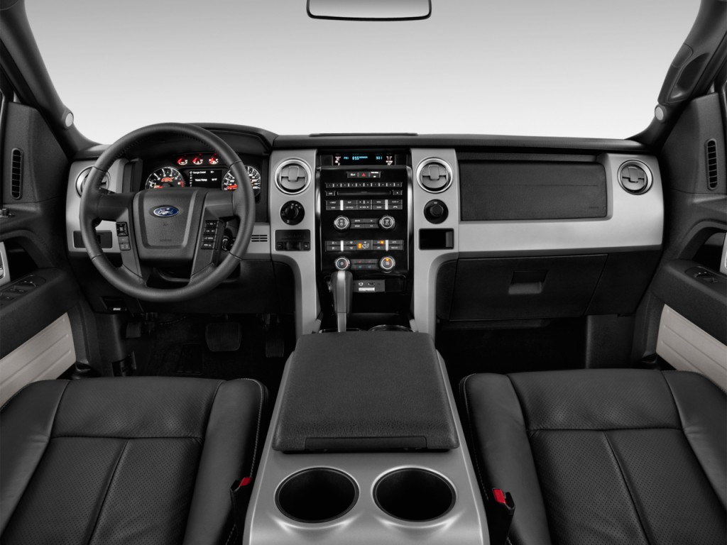 "Image: 2014 Ford F-150 4WD SuperCrew 145"" FX4 Dashboard ..."