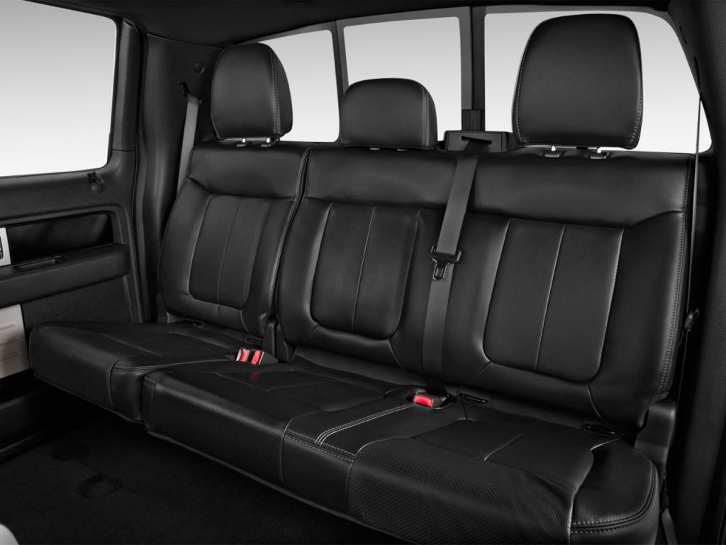 image 2014 ford f 150 4wd supercrew 145 fx4 rear seats. Black Bedroom Furniture Sets. Home Design Ideas
