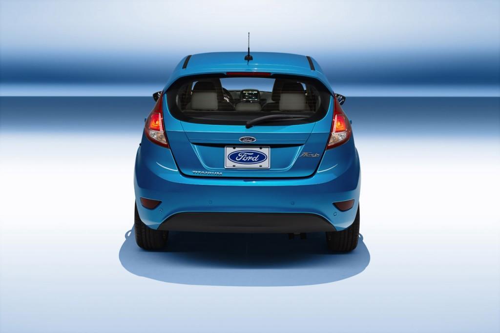 2014 Ford Fiesta 5-door hatchback