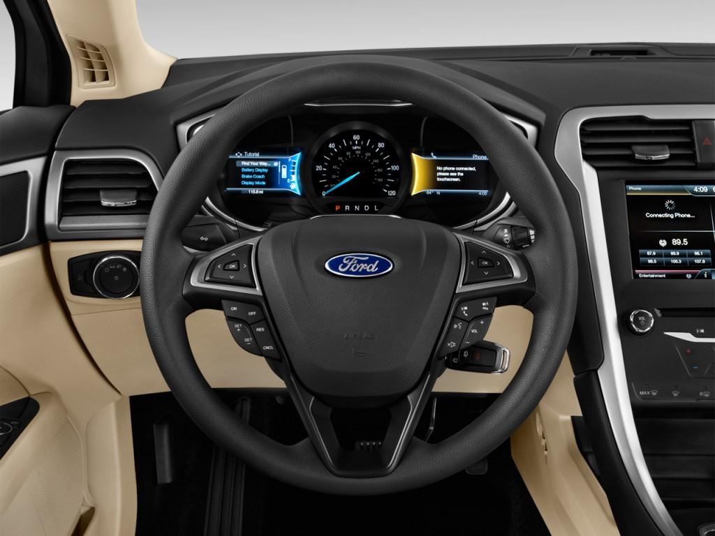 image 2014 ford fusion 4 door sedan se hybrid fwd. Black Bedroom Furniture Sets. Home Design Ideas