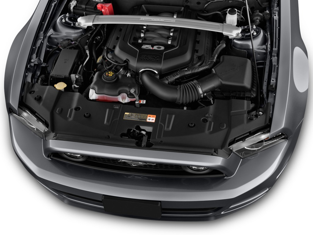 Image 2014 ford mustang 2 door coupe gt premium engine for Ford mustang motor sizes