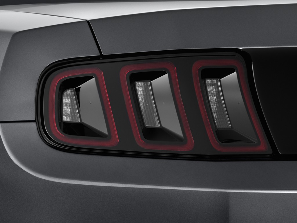 Image: 2014 Ford Mustang 2-door Coupe V6 Tail Light, size ...