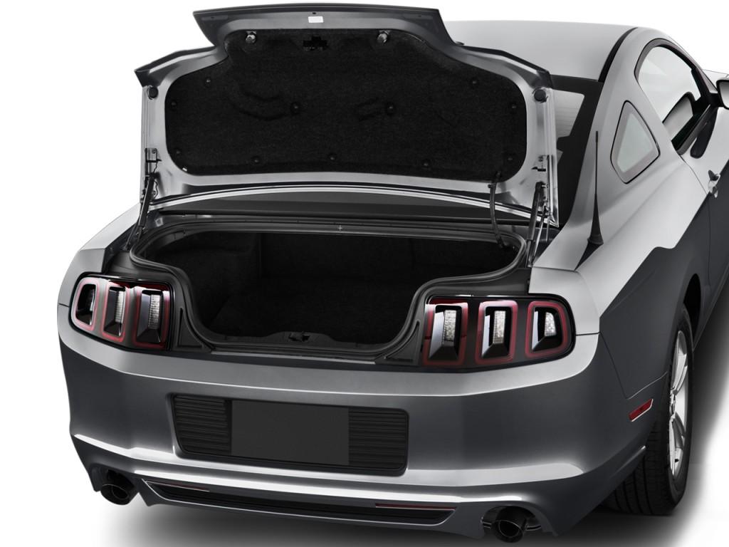 image 2014 ford mustang 2 door coupe v6 trunk size 1024. Black Bedroom Furniture Sets. Home Design Ideas