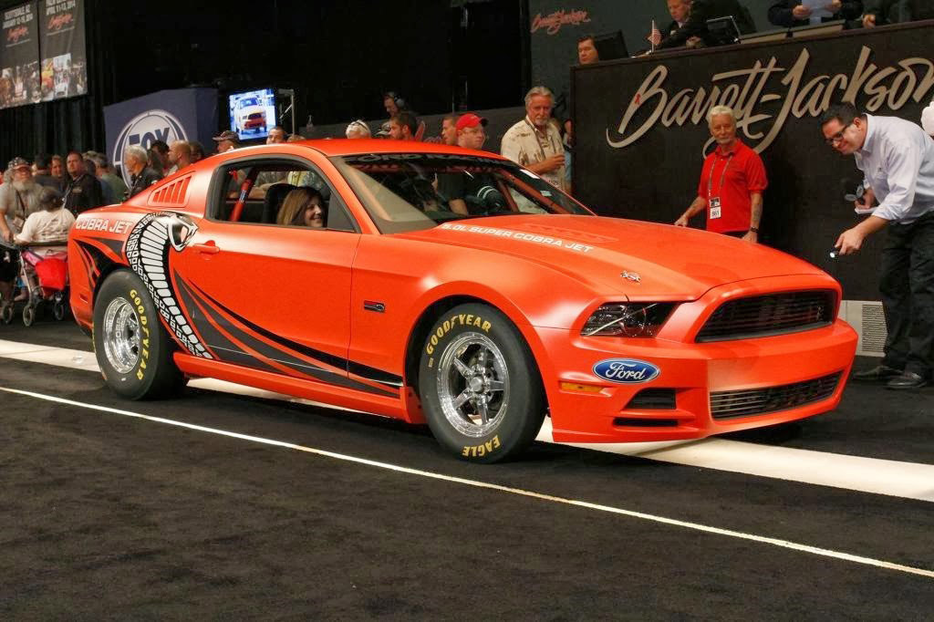 2014 Ford Mustang Cobra Jet Prototype Sells For 200k