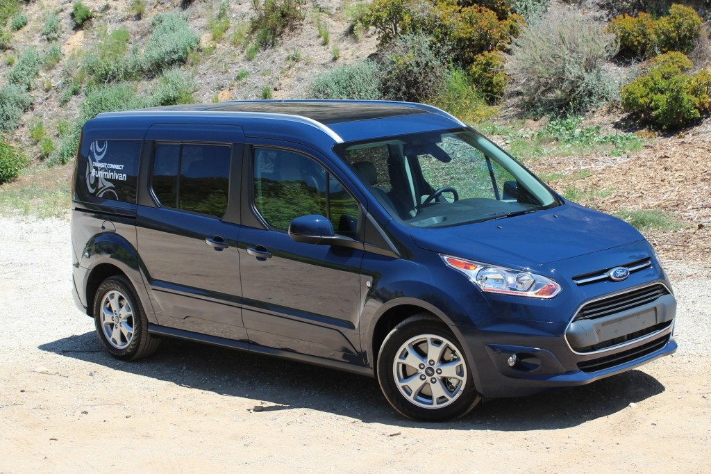 2014 Ford Transit Connect Wagon  -  First Drive, May 2014