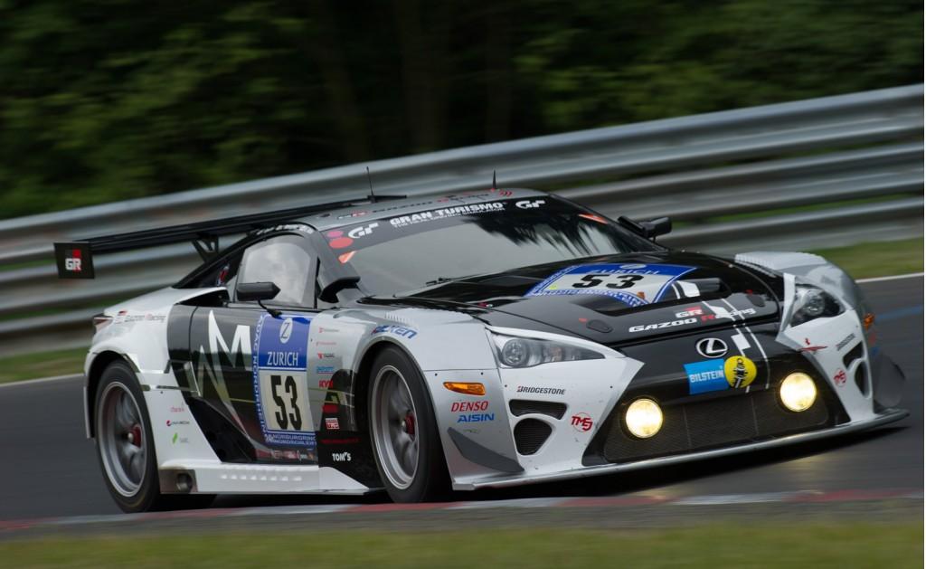 2014 Gazoo Racing Lexus LFA Code X race car