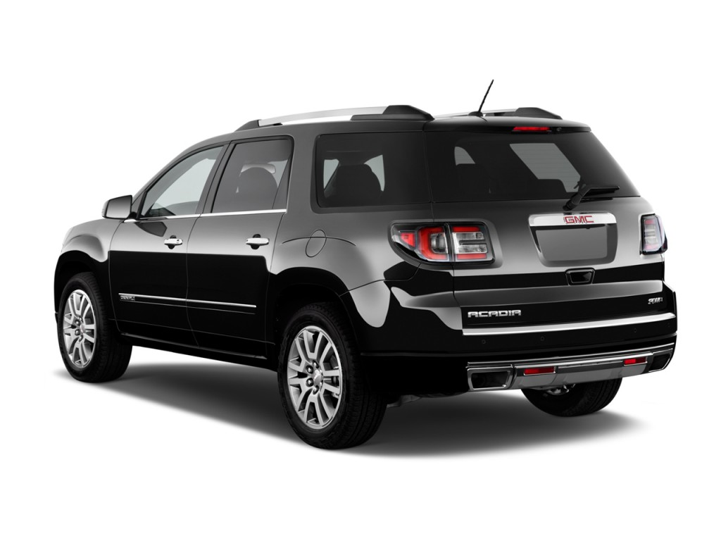 Image: 2014 GMC Acadia FWD 4-door Denali Angular Rear ...