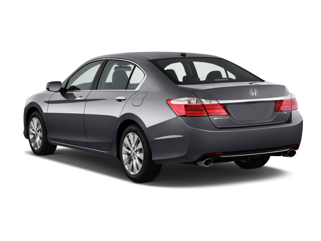 Image 2014 Honda Accord Sedan 4 Door V6 Auto Ex L Angular Rear Exterior View Size 1024 X 768