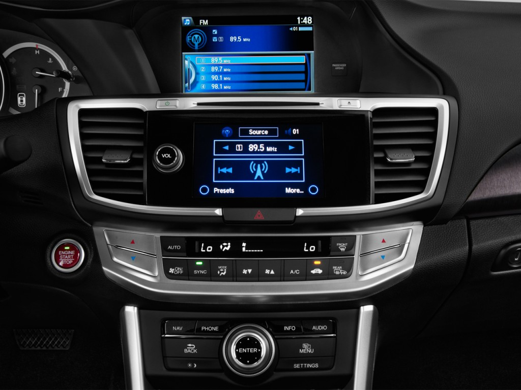 Used Honda Civic Coupe >> Image: 2014 Honda Accord Sedan 4-door V6 Auto EX-L Audio System, size: 1024 x 768, type: gif ...
