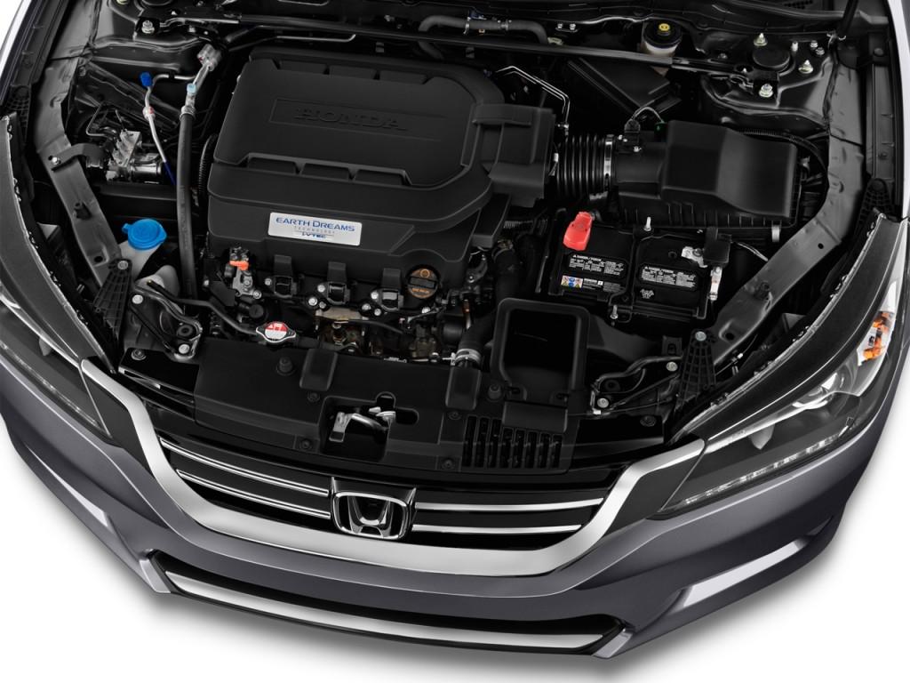 Image 2014 honda accord sedan 4 door v6 auto ex l engine for 2014 honda accord ex l v6