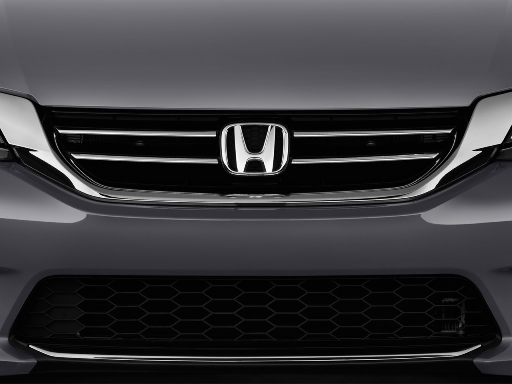 Image 2014 Honda Accord Sedan 4 Door V6 Auto Ex L Grille