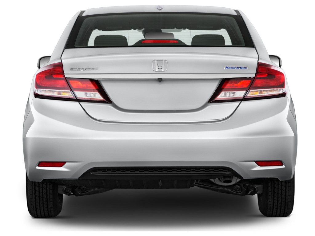 image 2014 honda civic 4 door auto cng rear exterior view size 1024 x 768 type gif posted. Black Bedroom Furniture Sets. Home Design Ideas