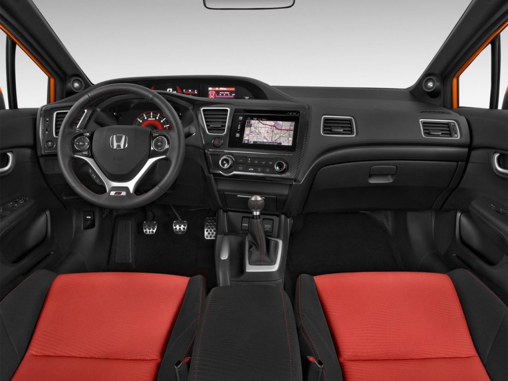 image 2014 honda civic 4 door man si dashboard size 1024 x 768 type gif posted on march. Black Bedroom Furniture Sets. Home Design Ideas
