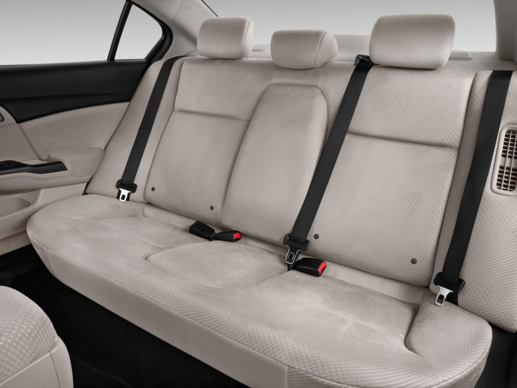 Image 2014 Honda Civic Hybrid 4 Door Sedan L4 Cvt Rear