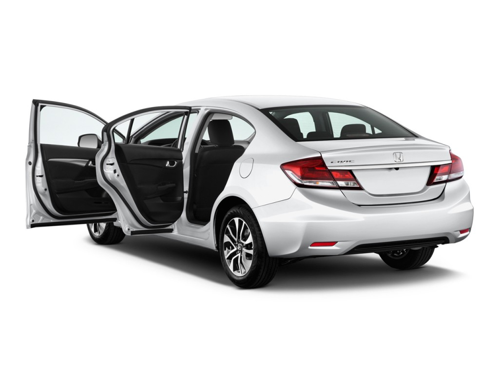 Image 2014 Honda Civic Sedan 4 Door Cvt Ex Open Doors Size 1024 X 768 Type Gif Posted On