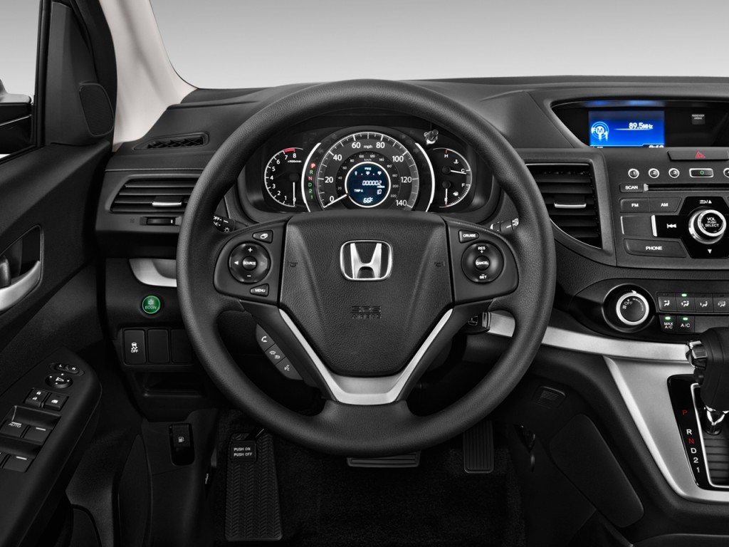 image 2014 honda cr v 2wd 5dr ex steering wheel size. Black Bedroom Furniture Sets. Home Design Ideas