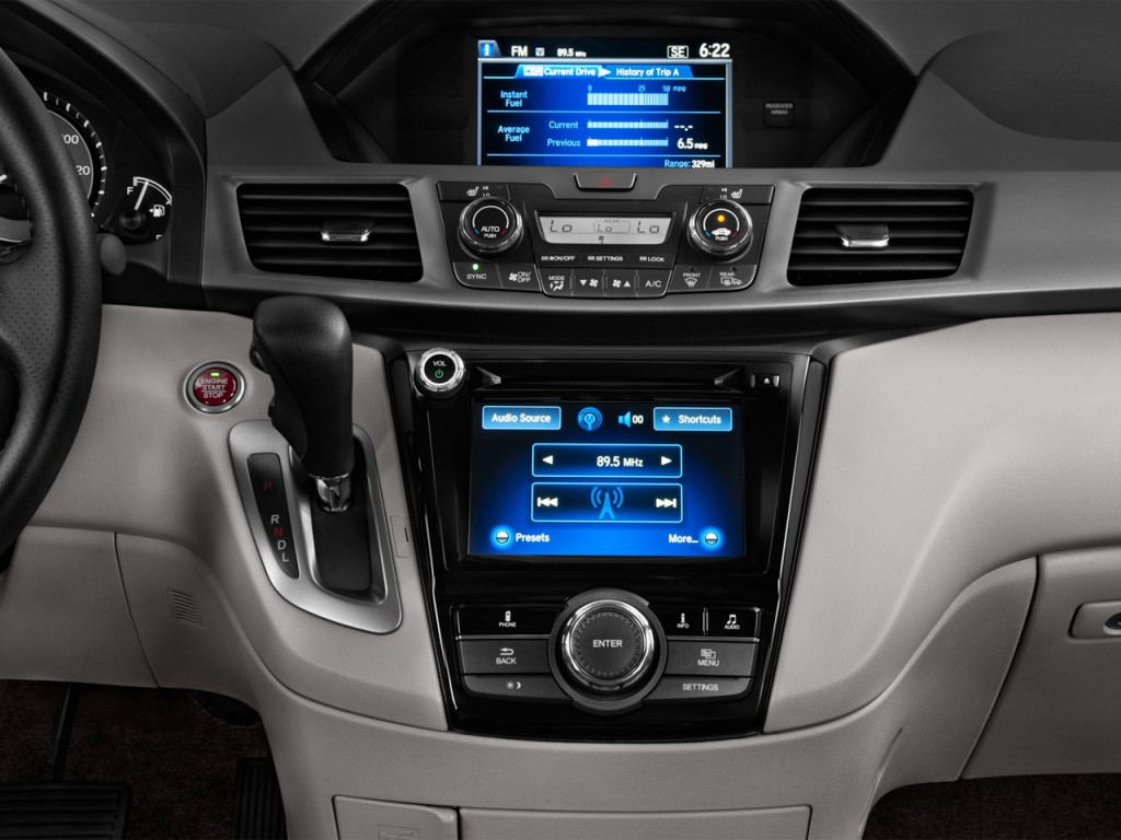 Image: 2014 Honda Odyssey 5dr EX-L Instrument Panel, size: 1024 x 768, type: gif, posted on ...
