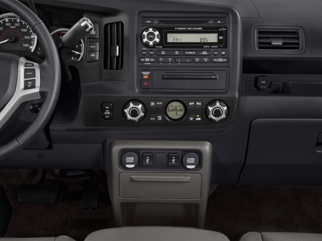 Image 2014 Honda Ridgeline 4wd Crew Cab Rtl Instrument