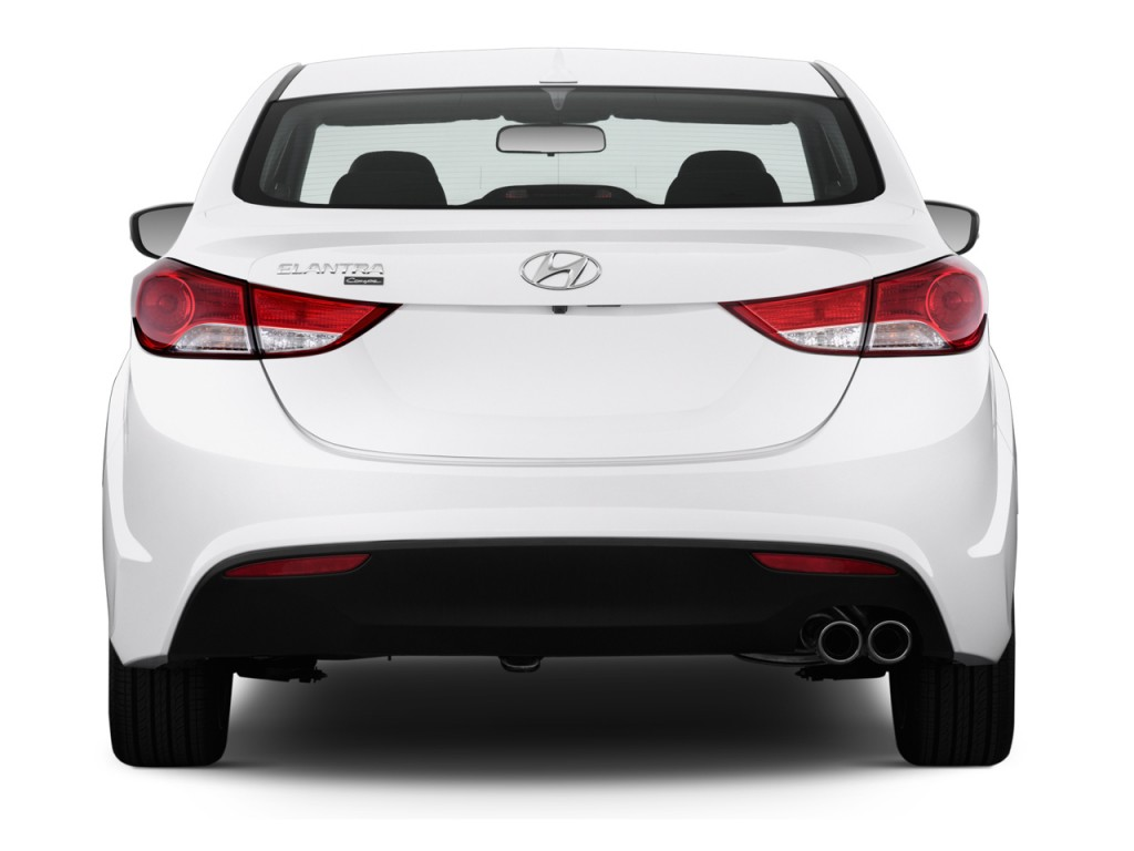Image 2014 Hyundai Elantra Coupe 2 Door Rear Exterior