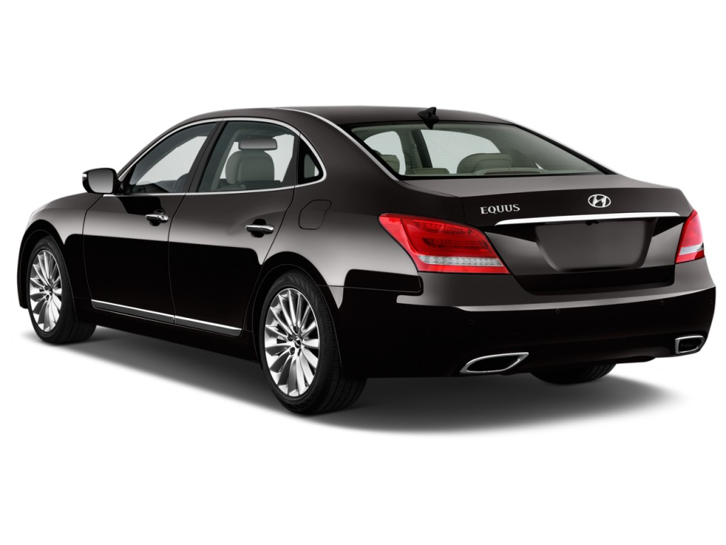 Image 2014 Hyundai Equus 4 Door Sedan Ultimate Angular