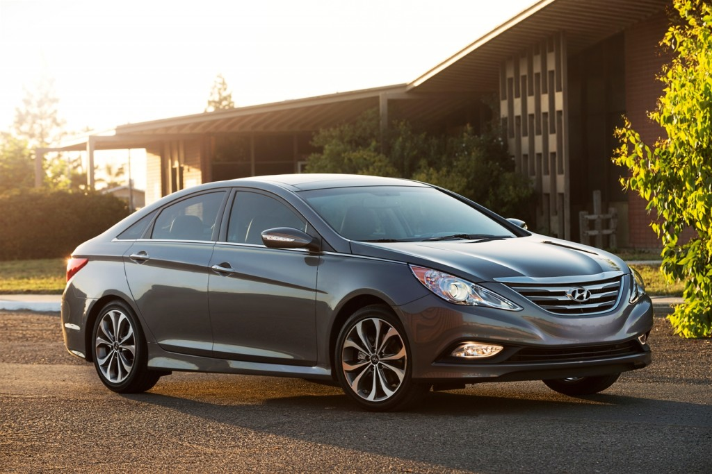 2011 2015 Hyundai Sonata, Sonata Hybrid Recalled To Repair Seatbelts:  978,000 Cars Affected