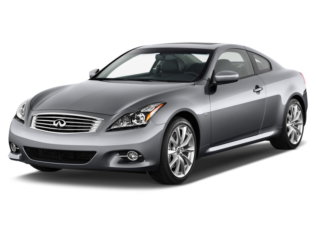 2014 Infiniti Q60 Coupe 2-door Journey RWD Angular Front Exterior View