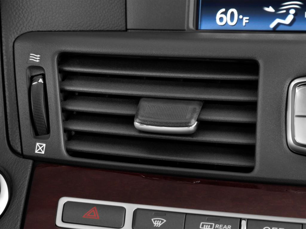 Image: 2014 Infiniti Q70 4-door Sedan V6 RWD Air Vents ...