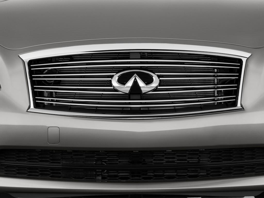 Image: 2014 Infiniti Q70 4-door Sedan V6 RWD Grille, size ...