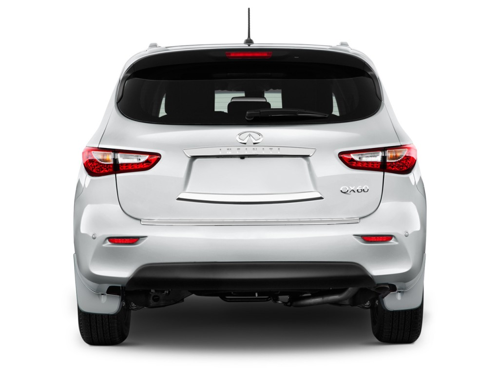 Image: 2014 Infiniti QX60 FWD 4-door Hybrid Rear Exterior View, size: 1024 x 768, type: gif ...