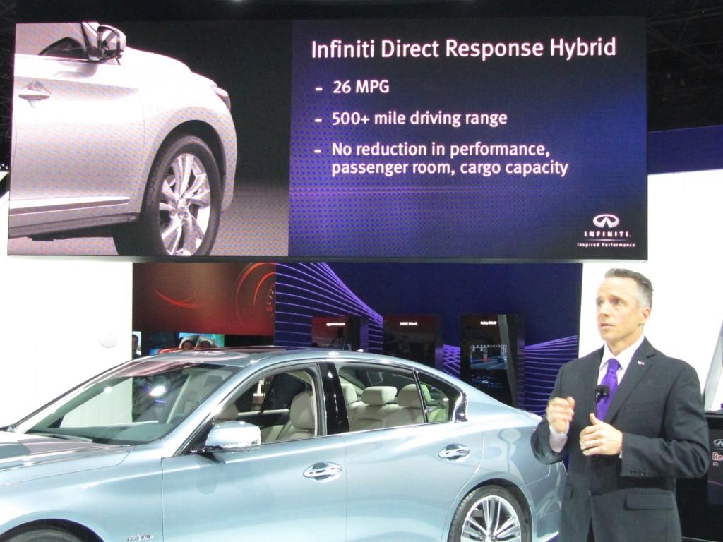 2014 Infiniti QX60 Hybrid, at 2013 New York Auto Show