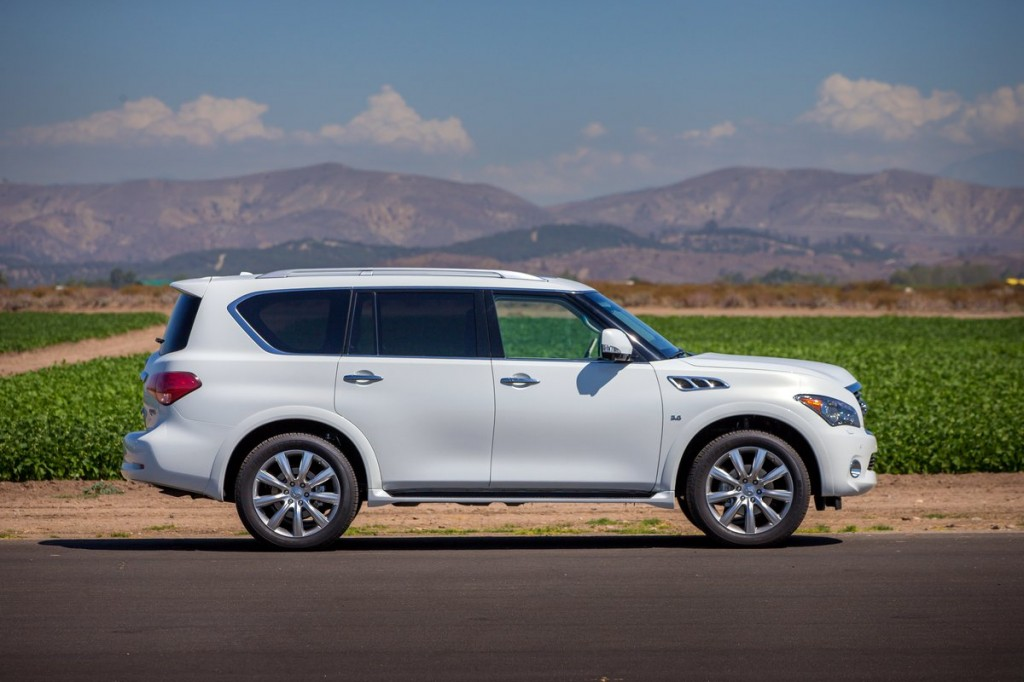 2014 Infiniti Qx80 Review Ratings Specs Prices And Photos The
