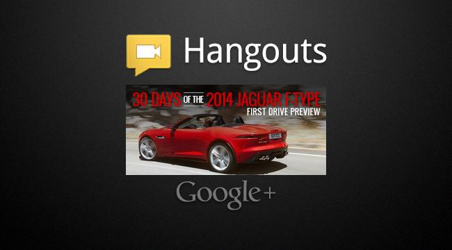 2014 Jaguar F-Type Hangout: 30 Days of F-Type