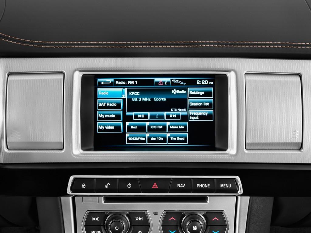 image 2014 jaguar xf 4 door sedan i4 t rwd audio system size 1024 x 768 type gif posted on. Black Bedroom Furniture Sets. Home Design Ideas