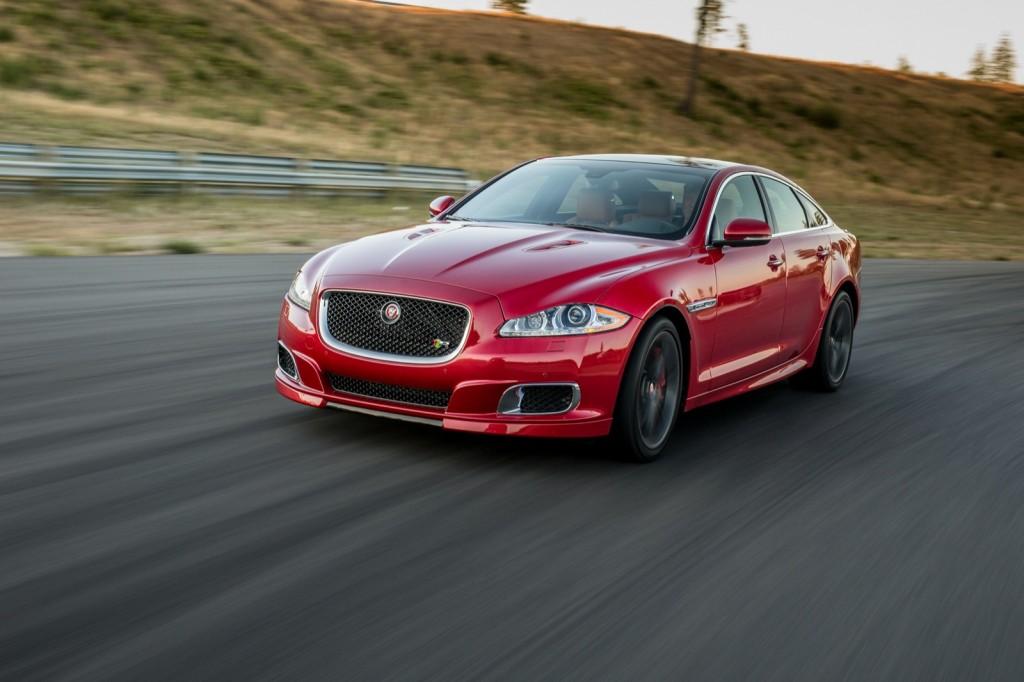 2014 Jaguar XJR  -  First Drive  -  August 2013  (closed course)
