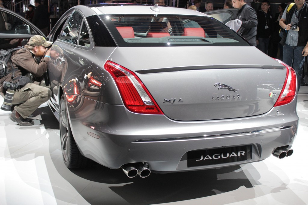 2014 Jaguar XJR L, 2013 New York Auto Show