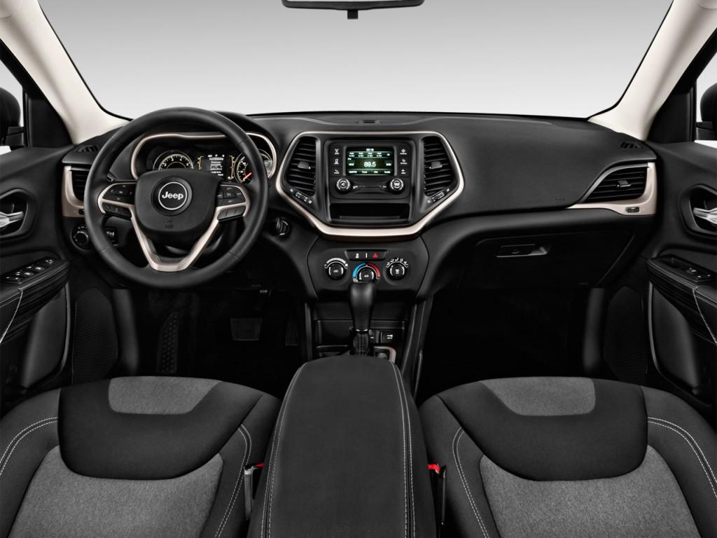Image: 2014 Jeep Cherokee FWD 4-door Sport Dashboard, size ...