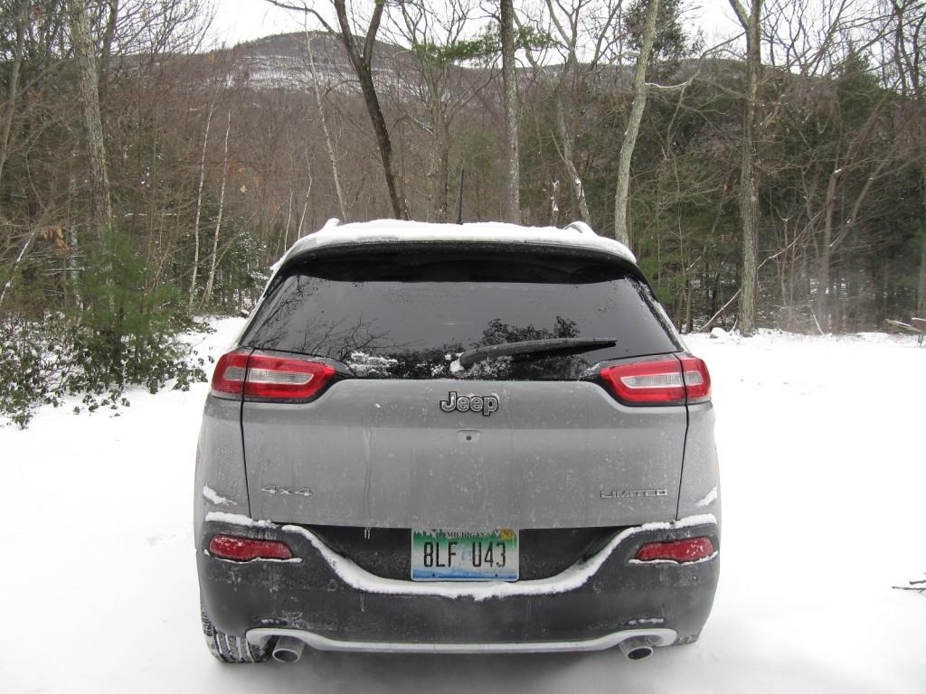 2014 Jeep Cherokee Limited 4x4, Catskill Mountains, NY, Jan 2014