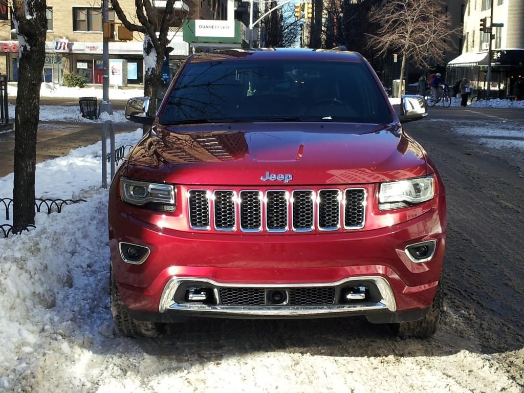 2014 Jeep Grand Cherokee EcoDiesel, New York City, Jan 2014