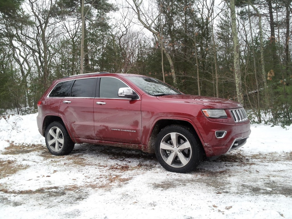 2014 Jeep Grand Cherokee EcoDiesel, Catskill Mountains, NY, Jan 2014