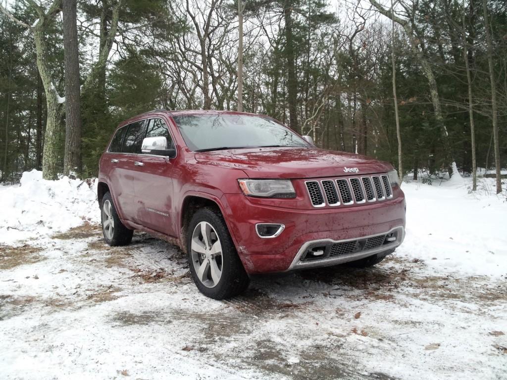 2014 Jeep Grand Cherokee EcoDiesel, Catskill Mountains, NY, Jan 2014