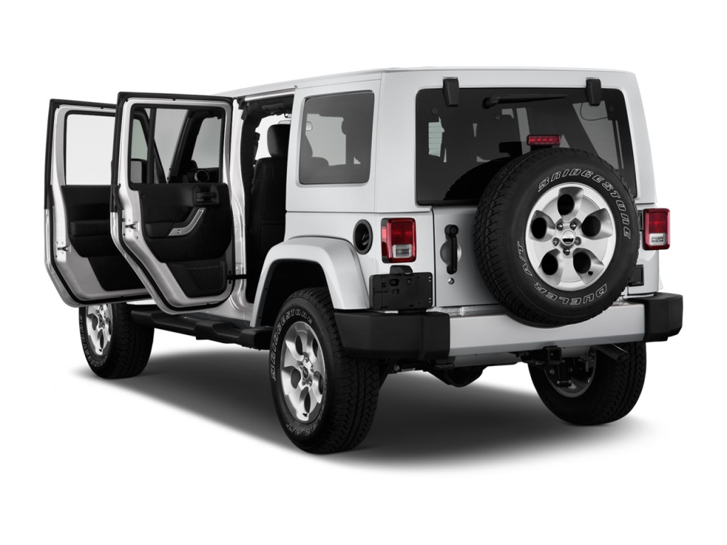 Image: 2014 Jeep Wrangler Unlimited 4WD 4-door Sahara Open ...