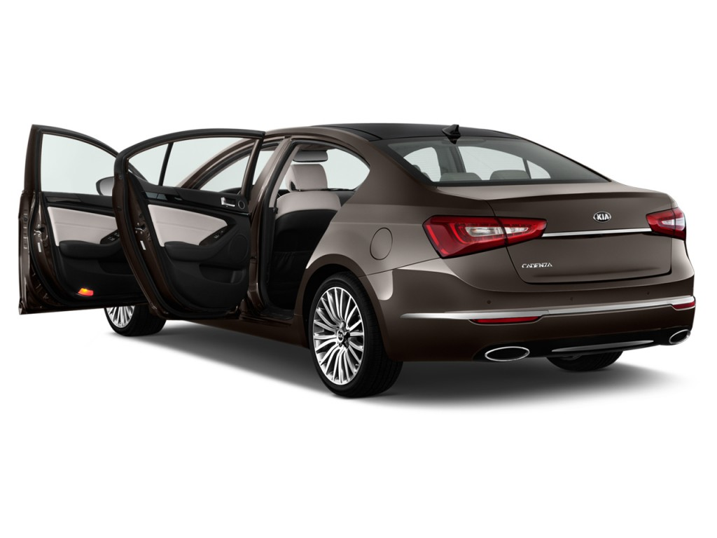 image 2014 kia cadenza 4 door sedan premium open doors size 1024 x 768 type gif posted on. Black Bedroom Furniture Sets. Home Design Ideas