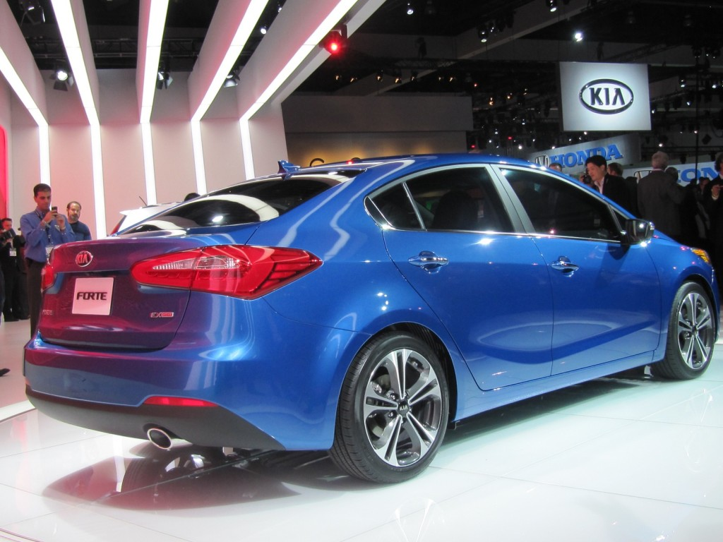 2014 Kia Forte sedan, launched at the 2012 Los Angeles Auto Show