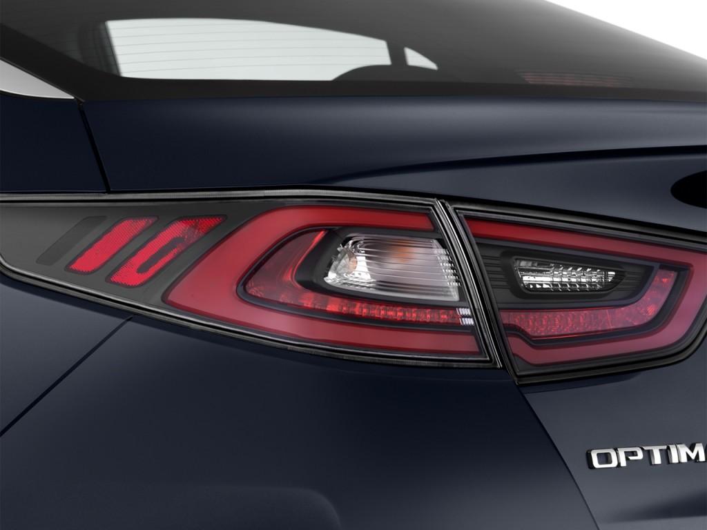 Image: 2014 Kia Optima Hybrid 4-door Sedan EX Tail Light ...