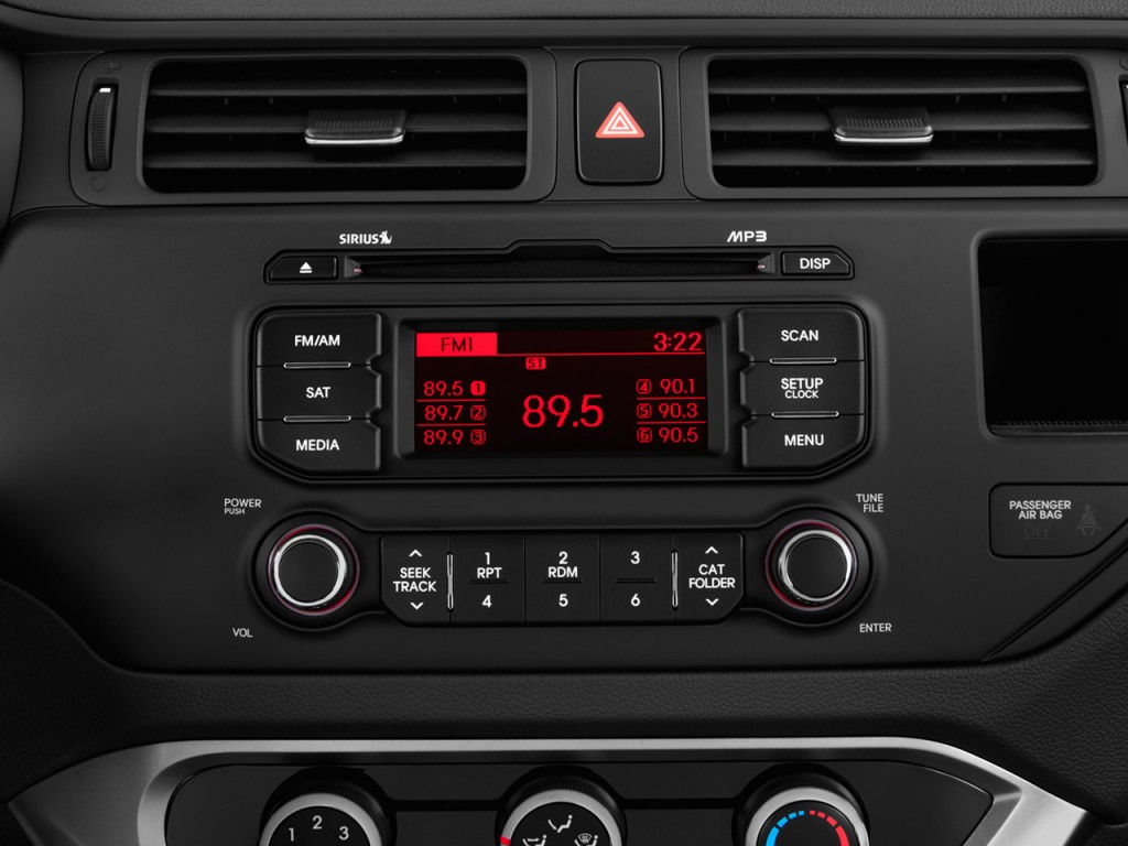 Image 2014 Kia Rio 4 Door Sedan Auto Lx Audio System