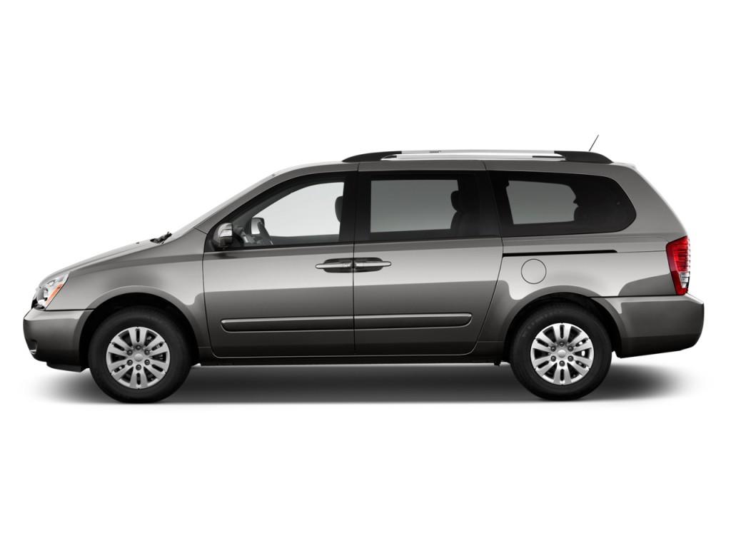 Image 2014 Kia Sedona 4 Door Wagon Lx Side Exterior View Size 1024 X 768 Type Gif Posted